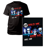 Limited Edition Hold Me, Thrill Me Screen Print & T-shirt