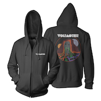 Wolfmother Graphite Zip Hoody