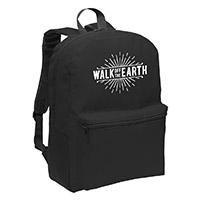 Walk Off The Earth Black Backpack