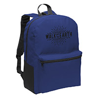 Walk Off The Earth Navy Backpack