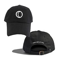 YMAS Logo Black Cap