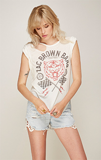 Zac Brown Band Rolled Sleeve Tank