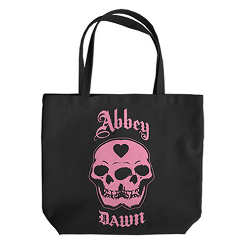 Double Skull Tote Bag