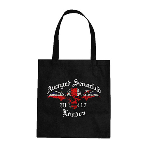 Union Jack London 2017 Black Tote Bag