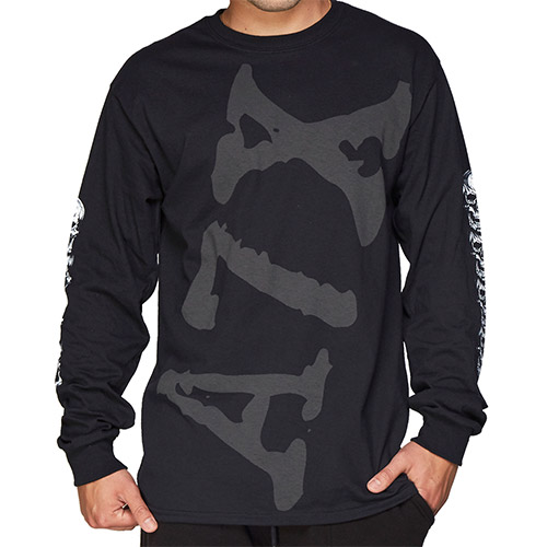 A7X Allover Long Sleeve Tee