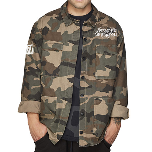 Deathbat Camo Jacket