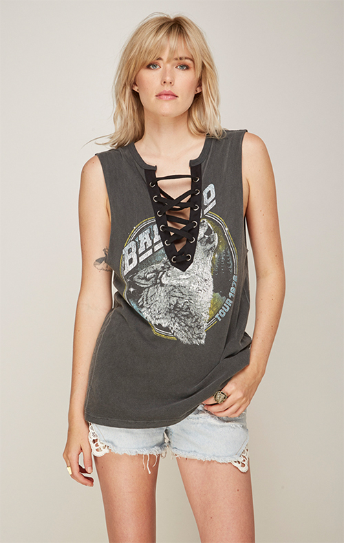 Bad Company Laceup Muscle Tank