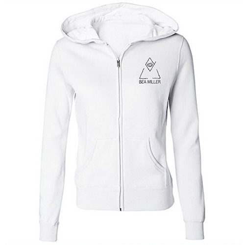 Bea Miller Juniors Light Zip Hoodie