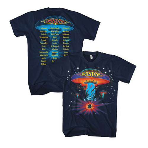 Starry Spaceship 2012 Tour Tee
