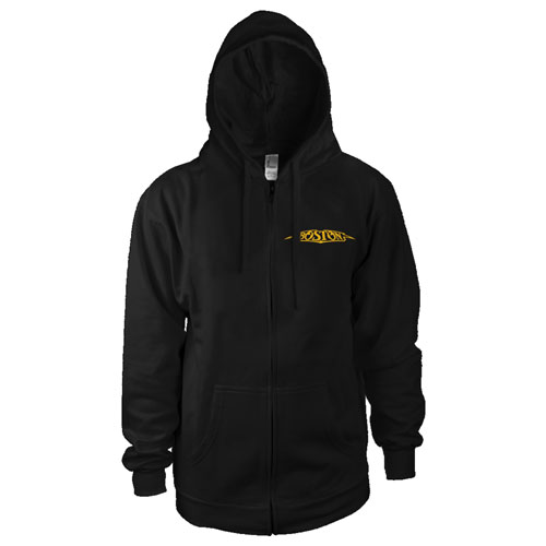 Boston Logo Men's Zip-Up Hoodie