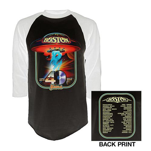 40th Anniversary Raglan T-Shirt