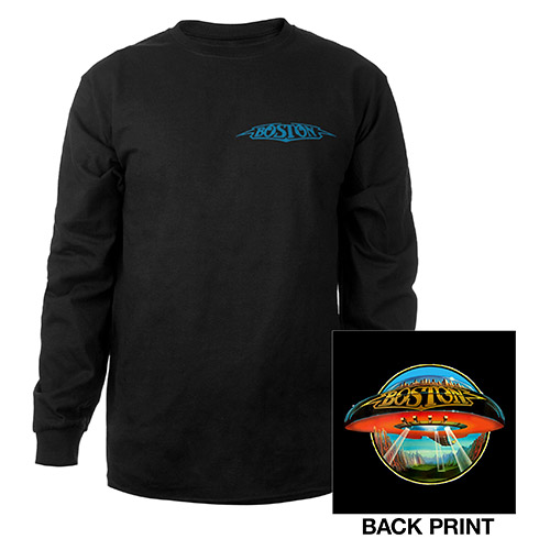 Boston Album Cover Long Sleeve T-Shirt