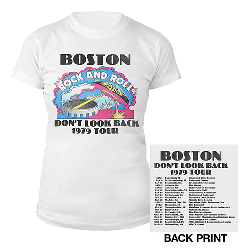 Don't Look Back Vintage Tour Women's T-Shirt