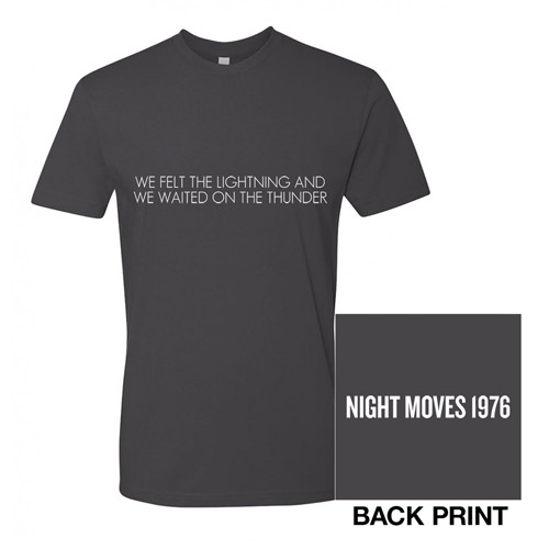 Night Moves Lyric Tee
