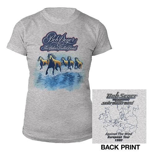 Against the Wind Vintage Tour Ladies Tee