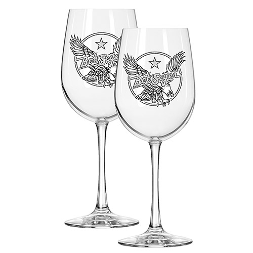 Star Eagle Wine Glasses