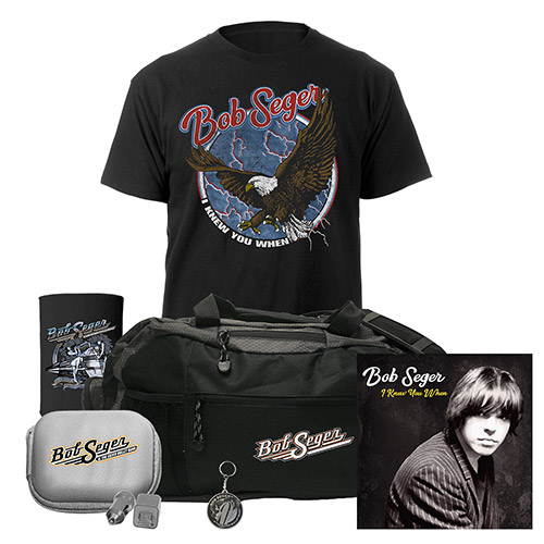 I Knew You When Deluxe CD, Tee, Duffel Bag, Charger Set, Coozie & Keychain
