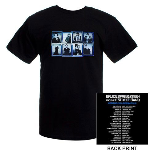 Black Photo Squares/Itin T-shirt