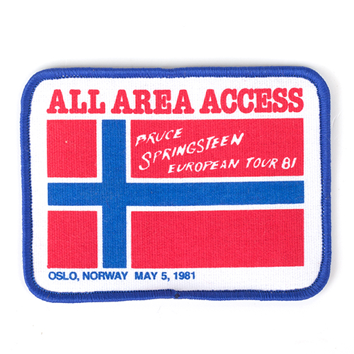 Oslo Norway Patch