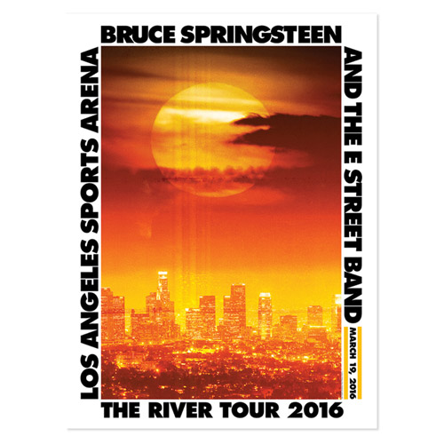 The River Los Angeles Event  Poster
