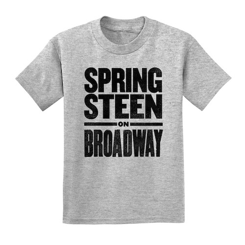 Springsteen on Broadway Kid's Tee