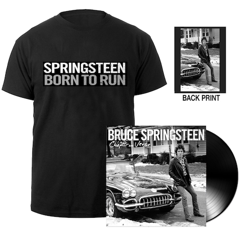 Chapter & Verse Vinyl + Born To Run Tee Bundle