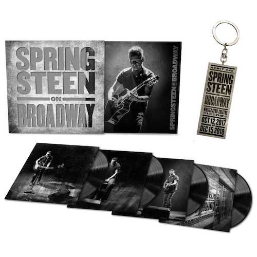 Springsteen on Broadway LP + Keychain Bundle