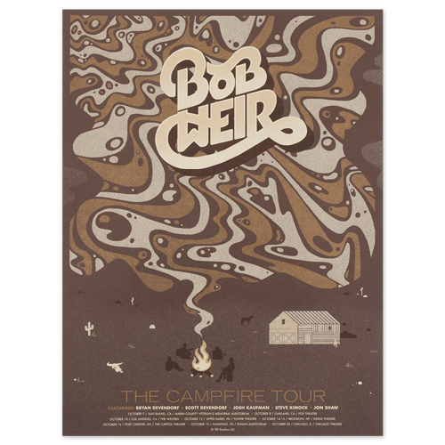The Campfire Tour Poster