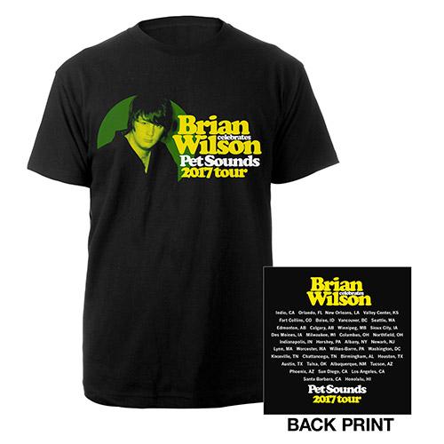 Brian Wilson Pet Sounds 2017 Portrait Tour Tee