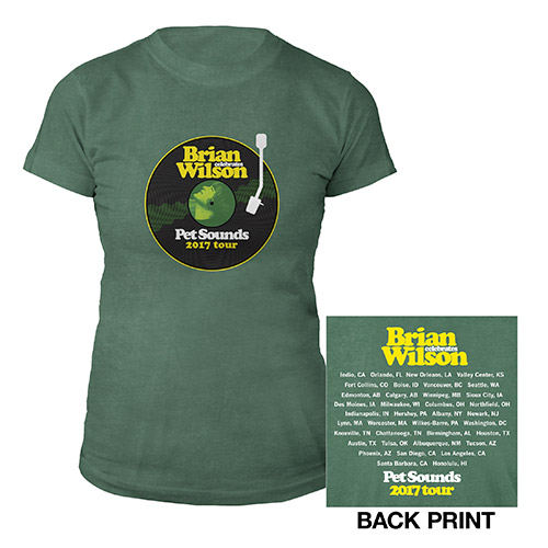 Pet Sounds Tour Ladies Tee
