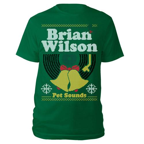 "Brian Wilson Pet Sounds ""Ugly"" Christmas Tee"