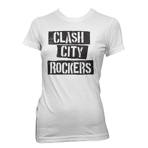 The Clash City Rockers Ladies T-shirt
