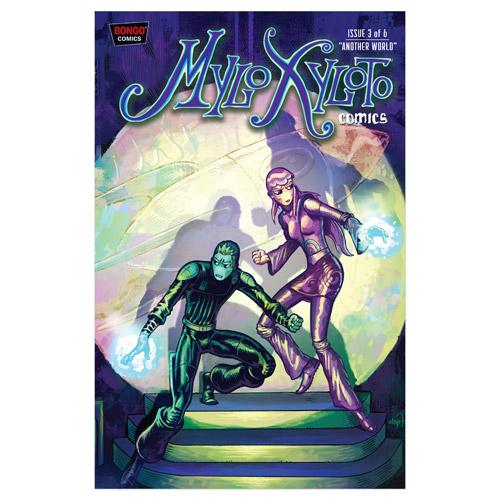 Mylo Xyloto Comic Series Issue #3