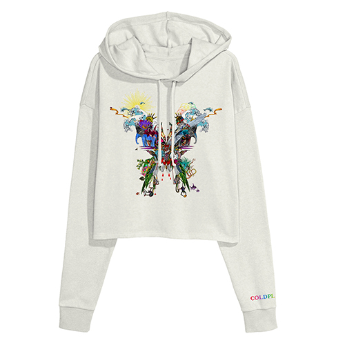 Butterfly Crop Hoody