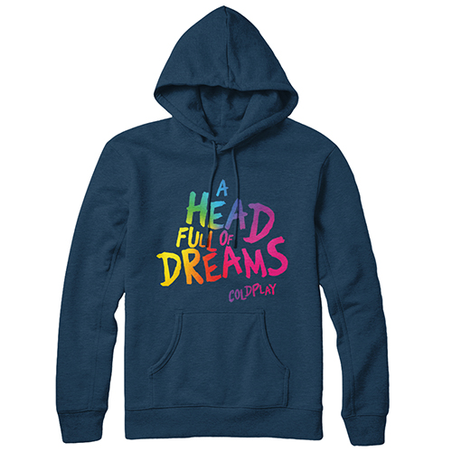A Head Full Of Dreams Blue Hoody