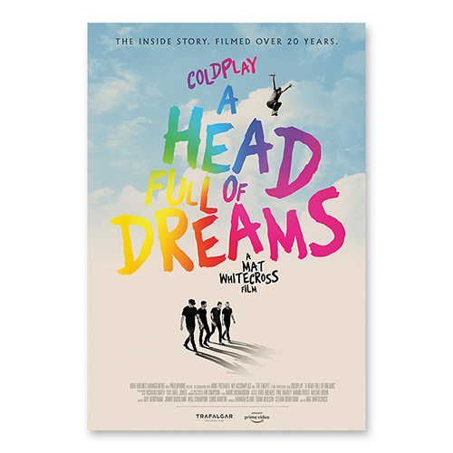 A Head Full Of Dreams Film Poster Lithograph