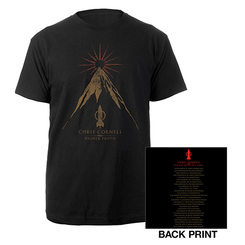 Higher Truth Euro Itinerary T-shirt
