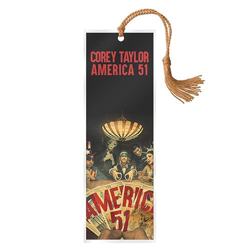 Corey Taylor America 51 Bookmark