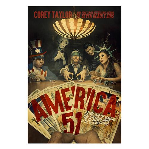 Corey Taylor America 51 Book