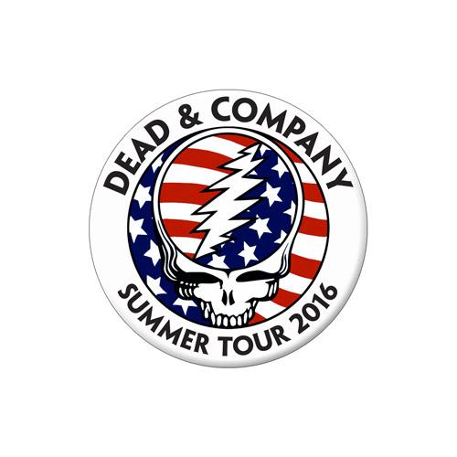 Dead & Company Button