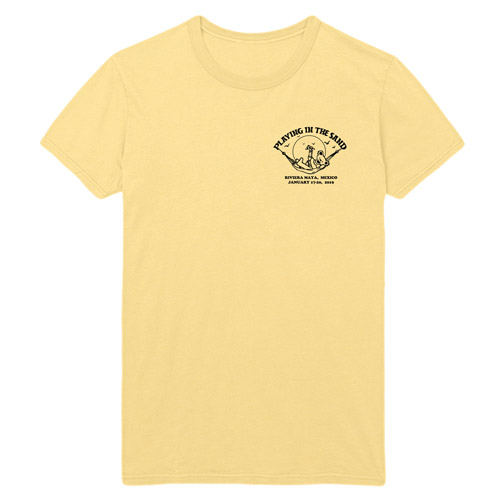 Playing in the Sand Rivera Maya Event Tee