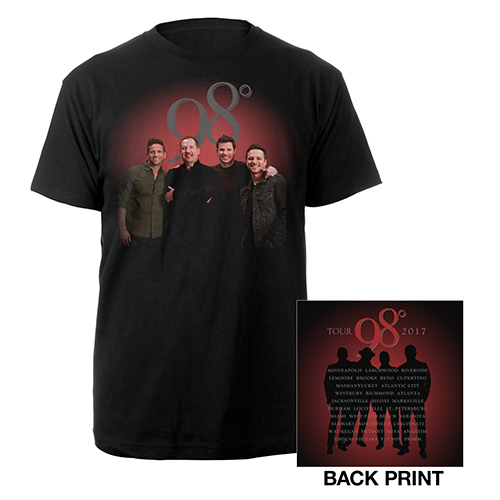 Red Glow Tour Tee