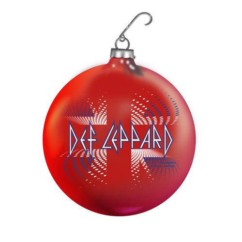 Union Jack Holiday Ornament