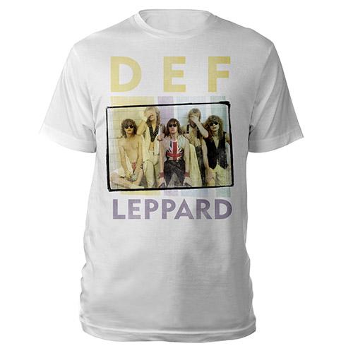 Def Leppard Band Photo Tee