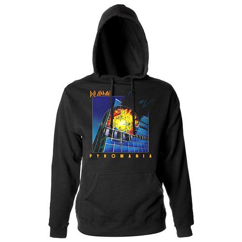 Pyromania Album Pullover Hoodie