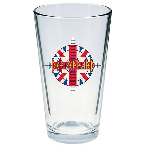 Target Flag Logo Pint Glass