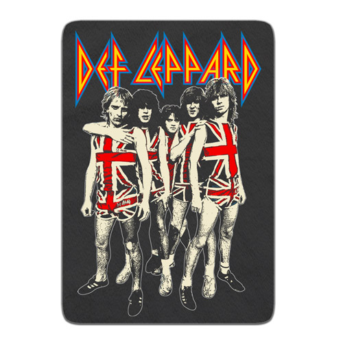 Band Photo Fleece Blanket