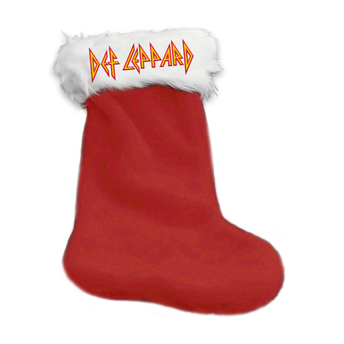 Logo Holiday Stocking
