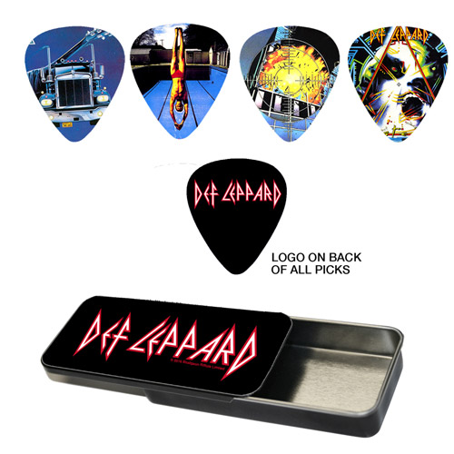Album Art Guitar Pick Set