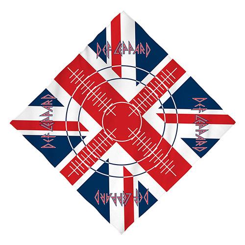 Union Jack Bullseye Bandana